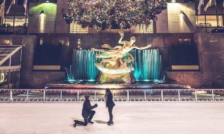 迎接圣诞季   从遇见洛克菲勒中心圣诞树顶的星星开始