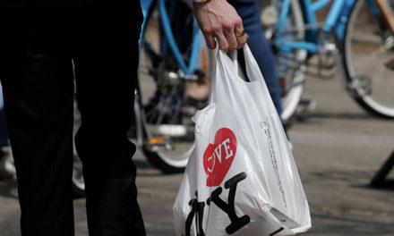 """纽约""""禁塑令""""3月份起正式实施!纽约客免费使用塑料袋的时代告终!"""