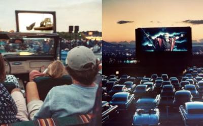 纽约大量户外汽车剧院春天回归!又有这些地方可以约会看电影啦!